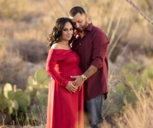this is an image from Your Family's Journey, best doula in tucson of a pregnant woman and her partner